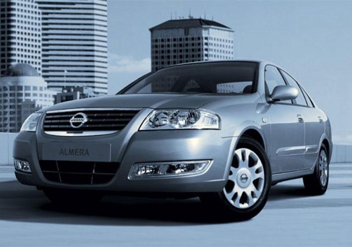 Аренда Nissan Almera 2007 1.6 AT (Ниссан Алмера 2007 1.6 Автомат)